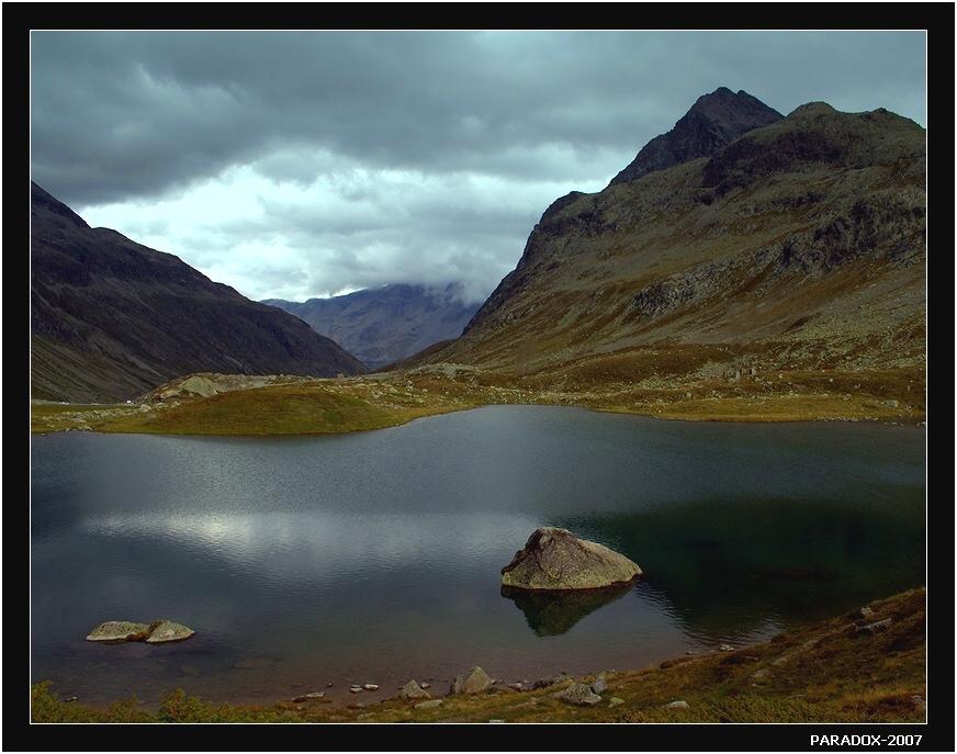 Швейцария, Перевал Юлиер (Julier pass). Высота 2284 m. Использовался еще древними римлянами. Canon EOS 350D.