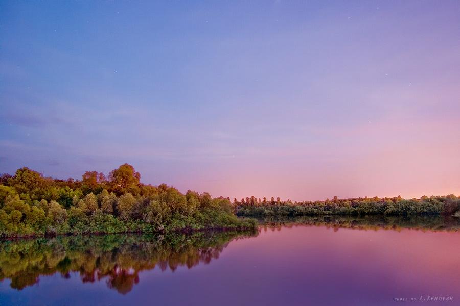 Беларусь Гомель Старик реки Сож Время_23:24:31