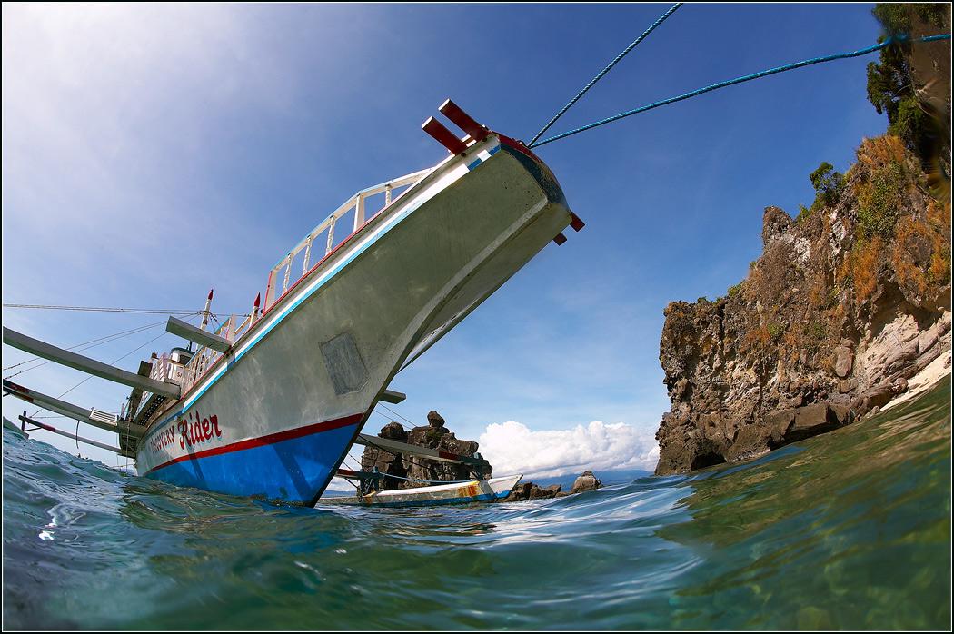 Филиппины. Возле о.Апо