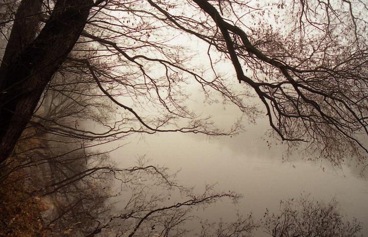 небольшой туман.