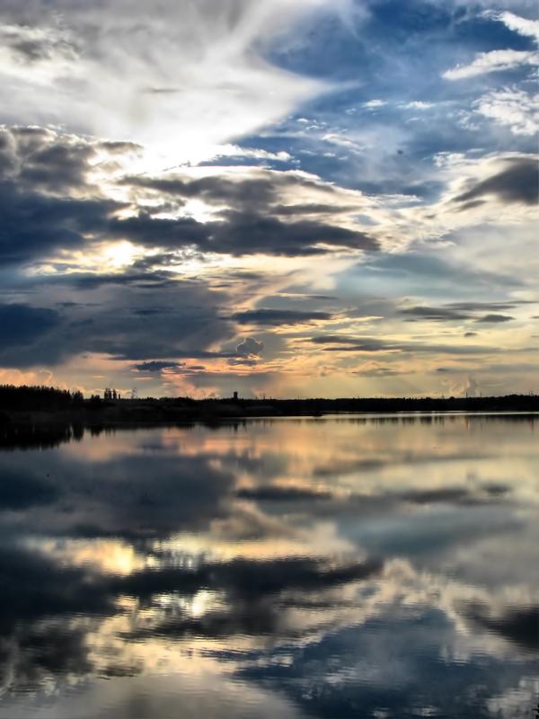 """""""Байкал"""" - это искусственное озеро, прозванное местными так за глубину и размеры :-)"""