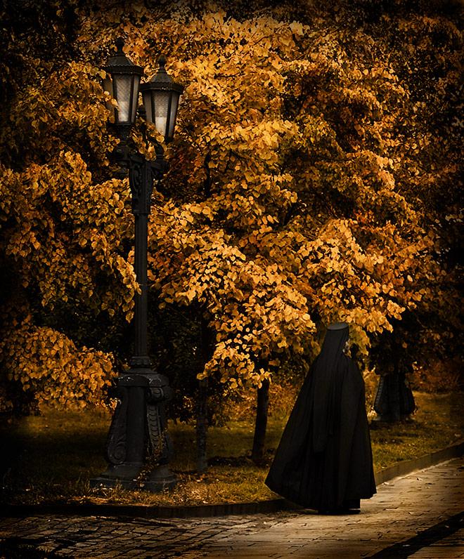 г.Москва  Даниловский монастырь. Осень 2007
