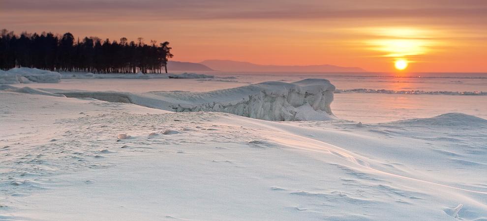Бурятия, Байкал, недалеко от поселка Турка