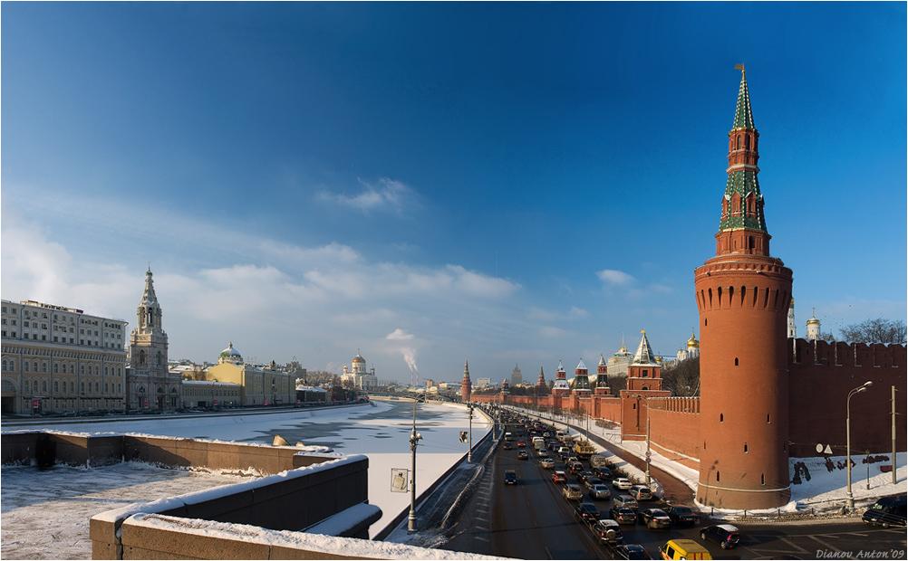 Утро красит нежным светом Стены древнего Кремля, Просыпается с рассветом Вся Советская земля.панорама 5 кадров