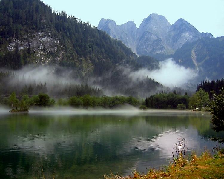 Озеро Госау. Верхняя Австрия.