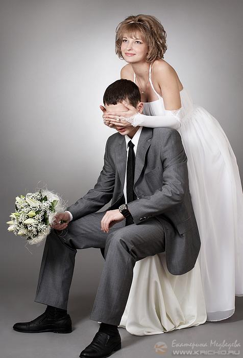 свадьба невеста жених букет студия кричио