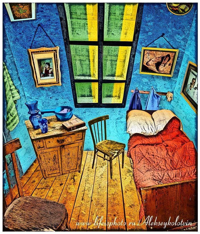 вдохновленный работами Ван Гога