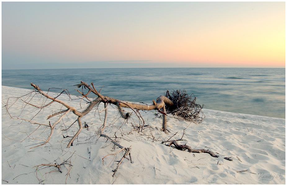 Балтика Вечер Закат