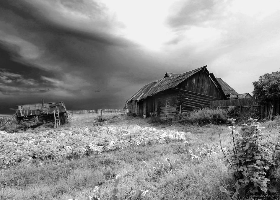 Северный Урал, деревня Бушуевка