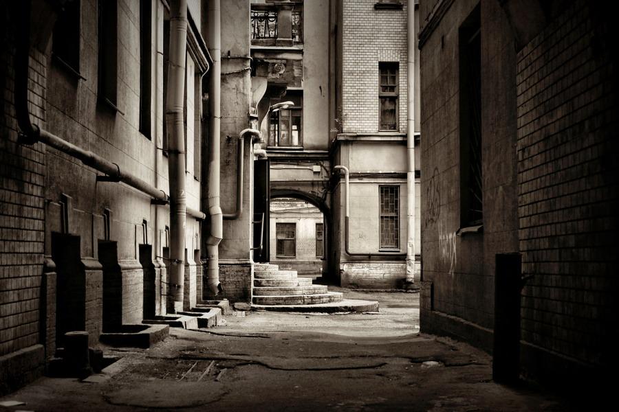 Питерские дворики.