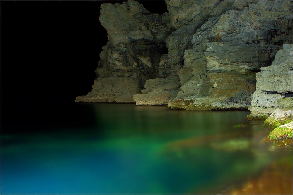 Ночное баловство с дайверским фонариком в роли световой кисти. f.8, 30 sec., iso 250м. Тарханкут, Крым.