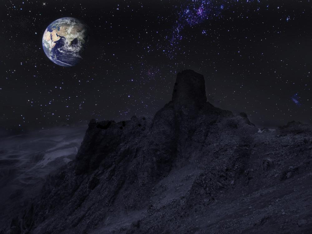 Лунный пейзаж )