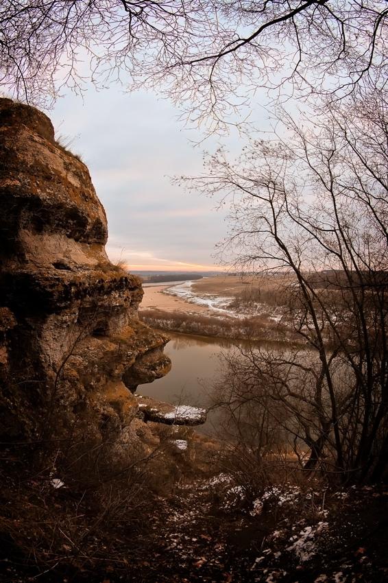 Заповедник Галичья гора, скала называется тещин язык!