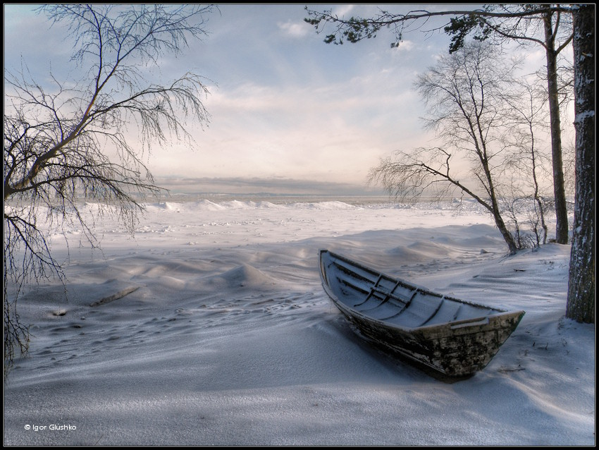 Байкал и Лодка