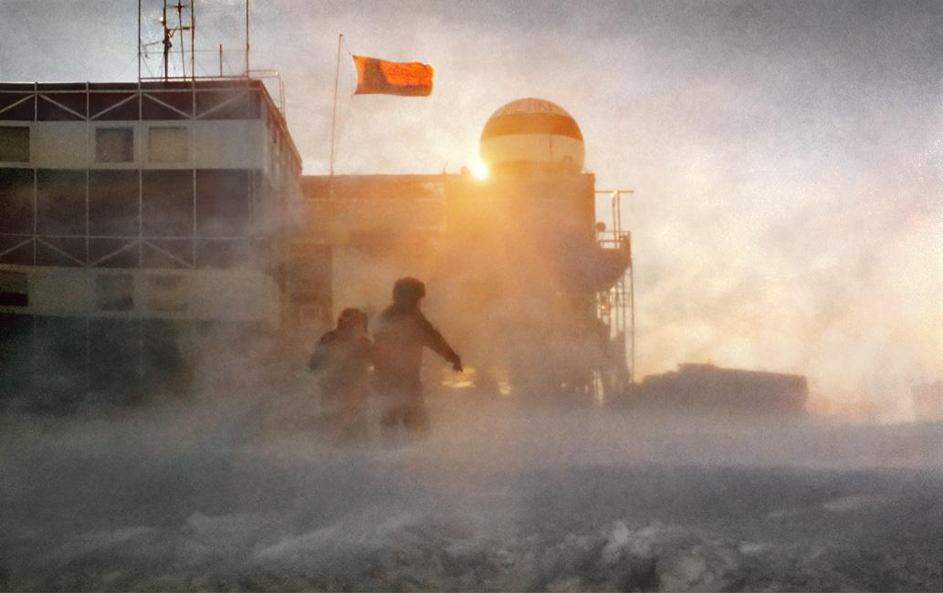 Антарктида, станция Мирный, СССР