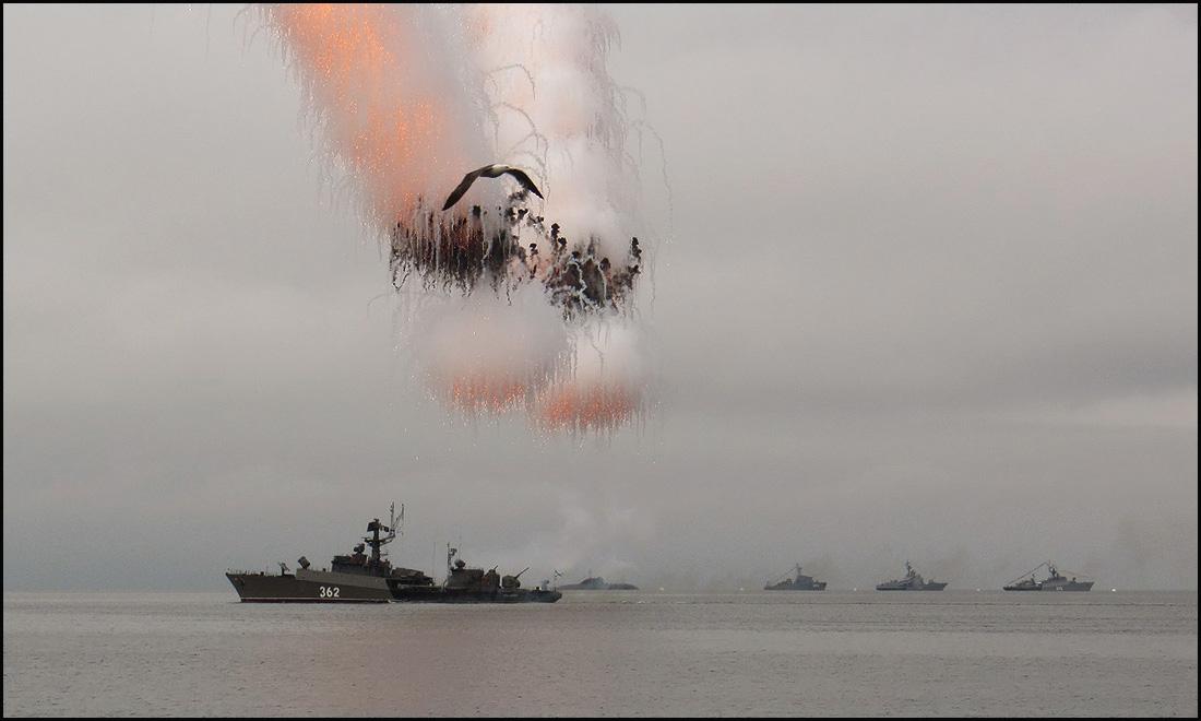 Владивосток. День ВМФ.