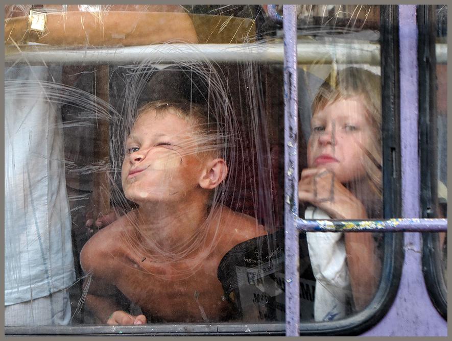 Или ехали в троллейбусе Петров и Васечкин...))