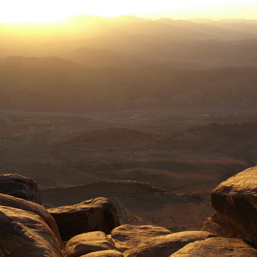 Египет. Синайские горы. Гора Моисея.