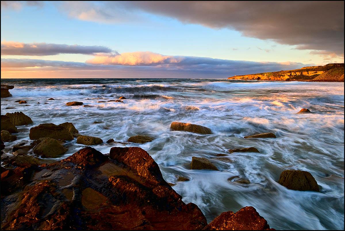 Шотландия, побережье Северного моря.