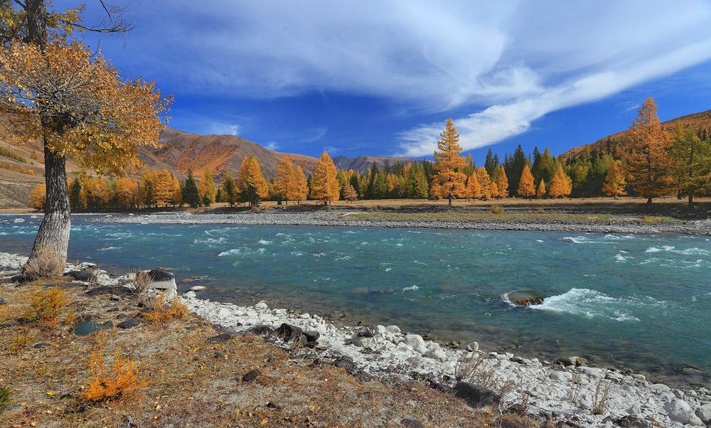 Горный Алтай, река Чуя, сентябрь 2010 г.Другие фото Горного Алтая у меня на сайте www.stv-foto.ru