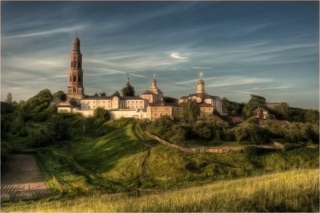 Св. Иоанно-Богословский мужской монастырь, с. Пощупово, Рязанская область