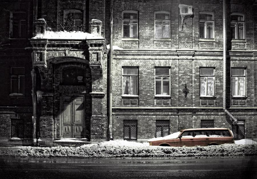 Не открыточный Петербург.