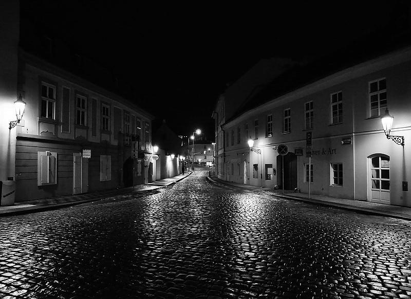 Mесто фотографирование, улица U Luzickeho Seminare-Мала Страна-Прага-1