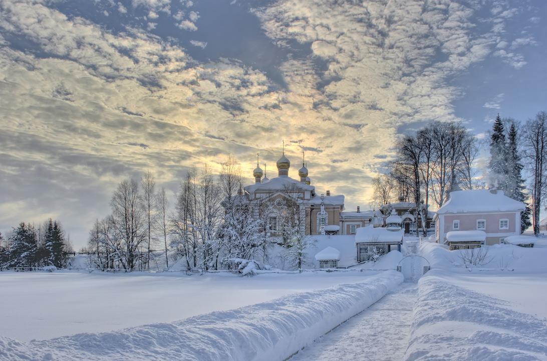 Карелия. Важеозёрский монастырь