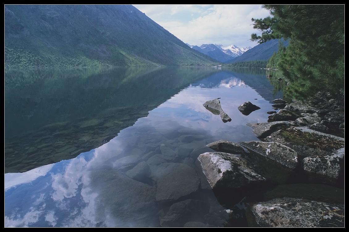 Алтай, Н.Мультинское оз. Катунский хр.