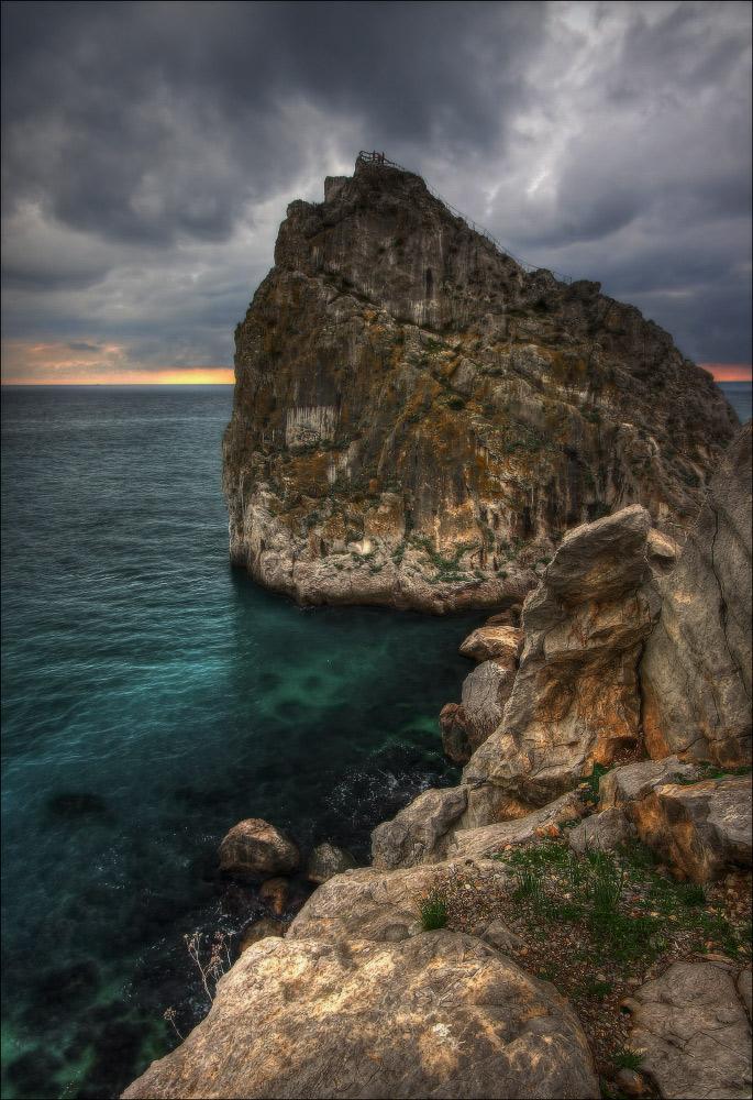 Крым. море. Дива