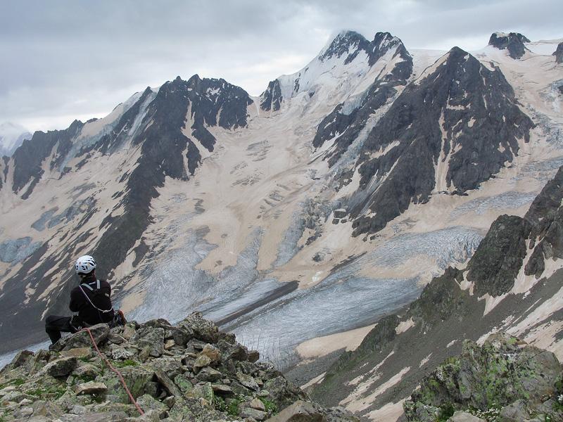 Большой кавказский хребет. Дигория 2009.