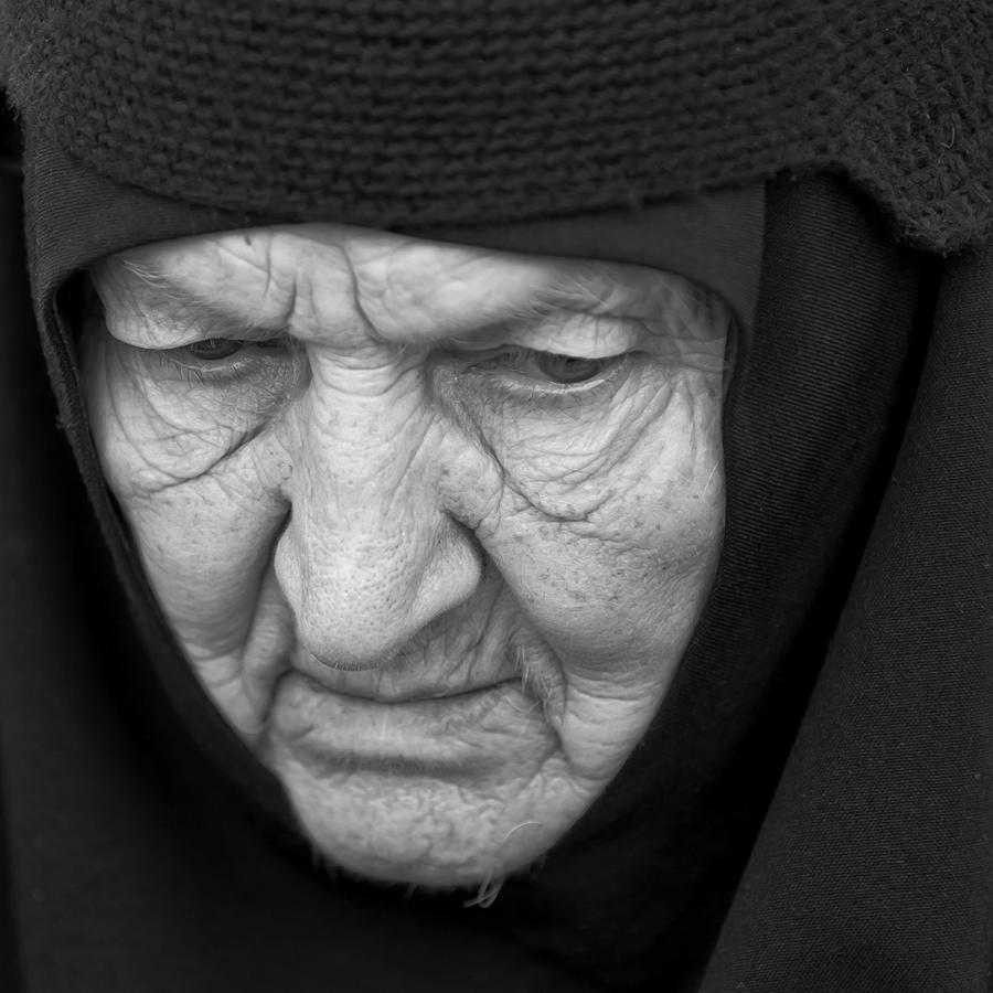 портрет, монахиня, вера