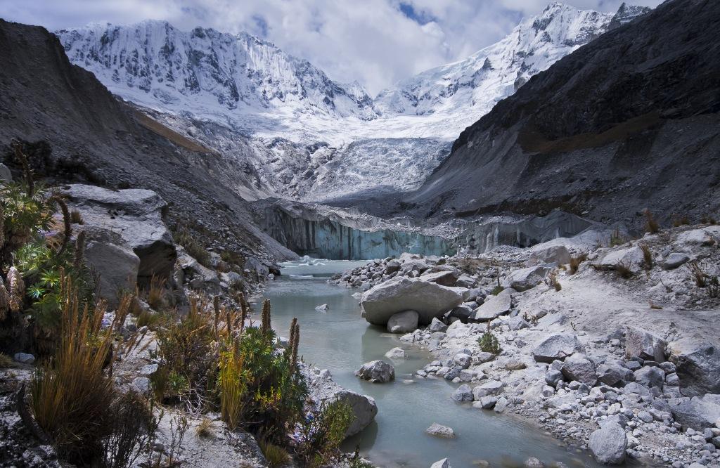 4600 м.Трек к Laguna Llaka. Перуанские Анды