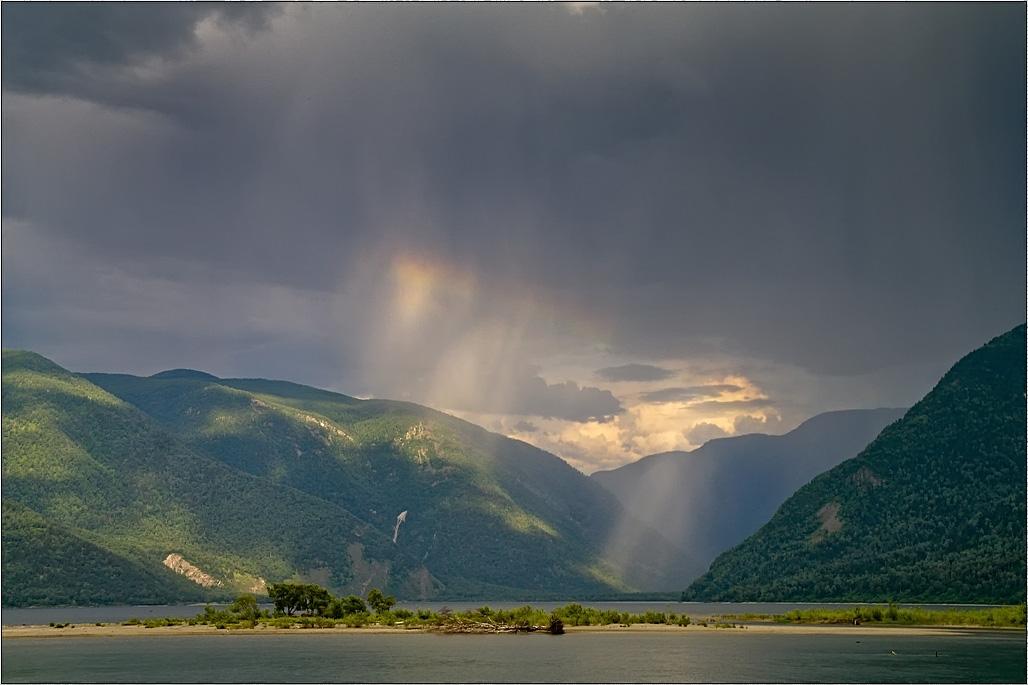 На Телецком озере