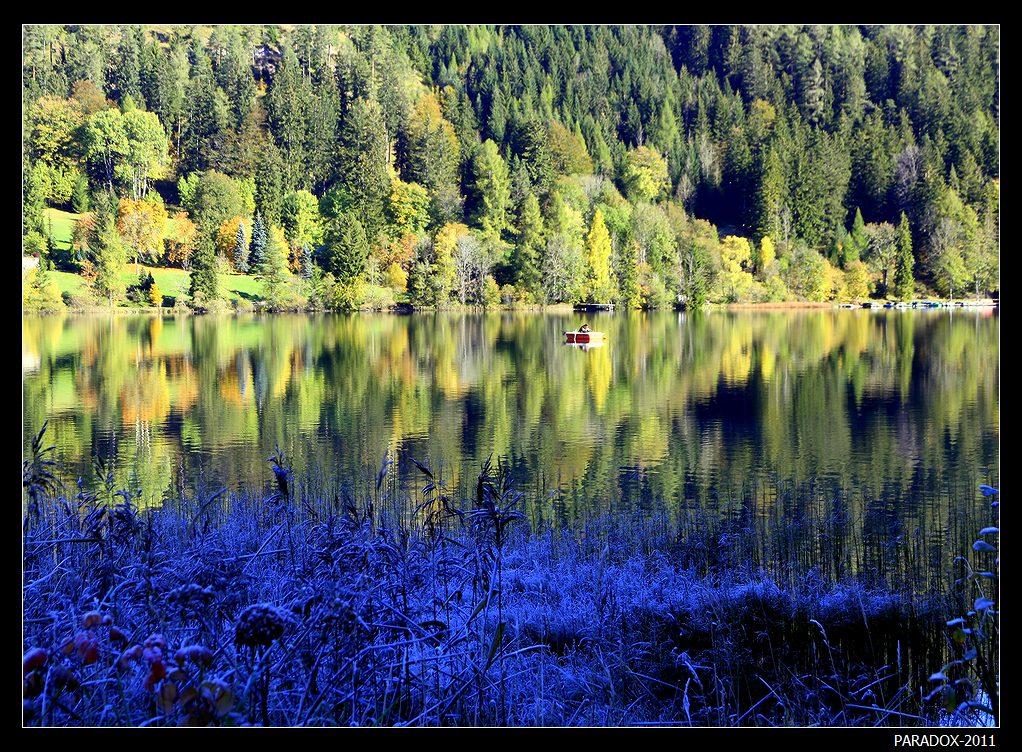 *  *  *Австрия. Горное озеро Эрлауф. Erlaufsee Styria Austria*  *  *