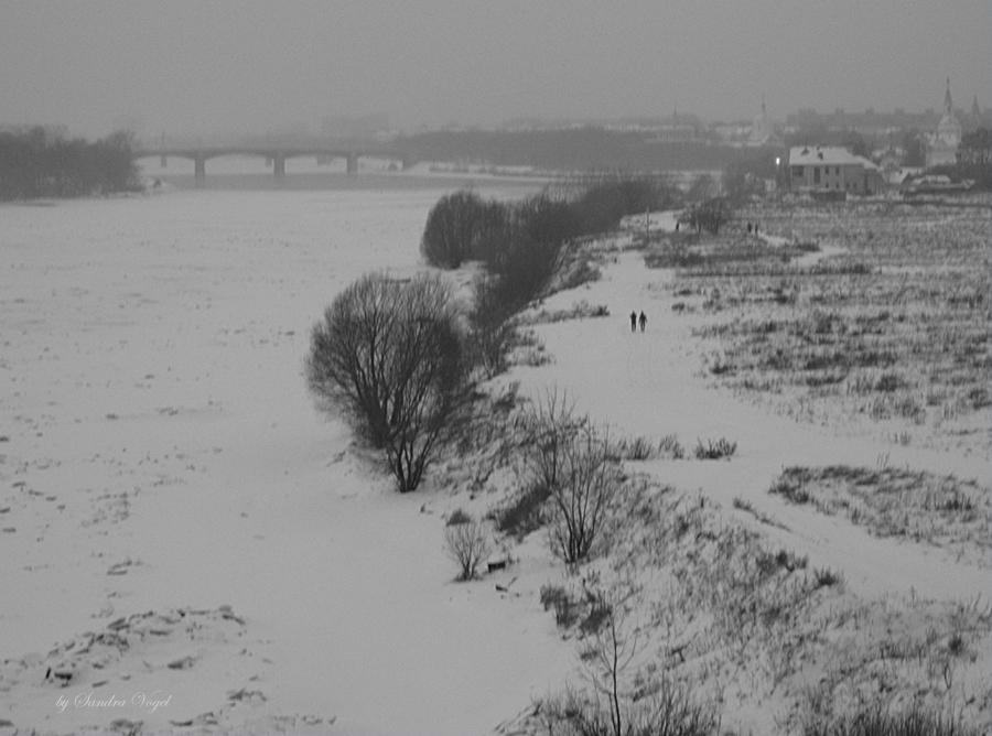 Тверь.январь 2012.cнег.Волга