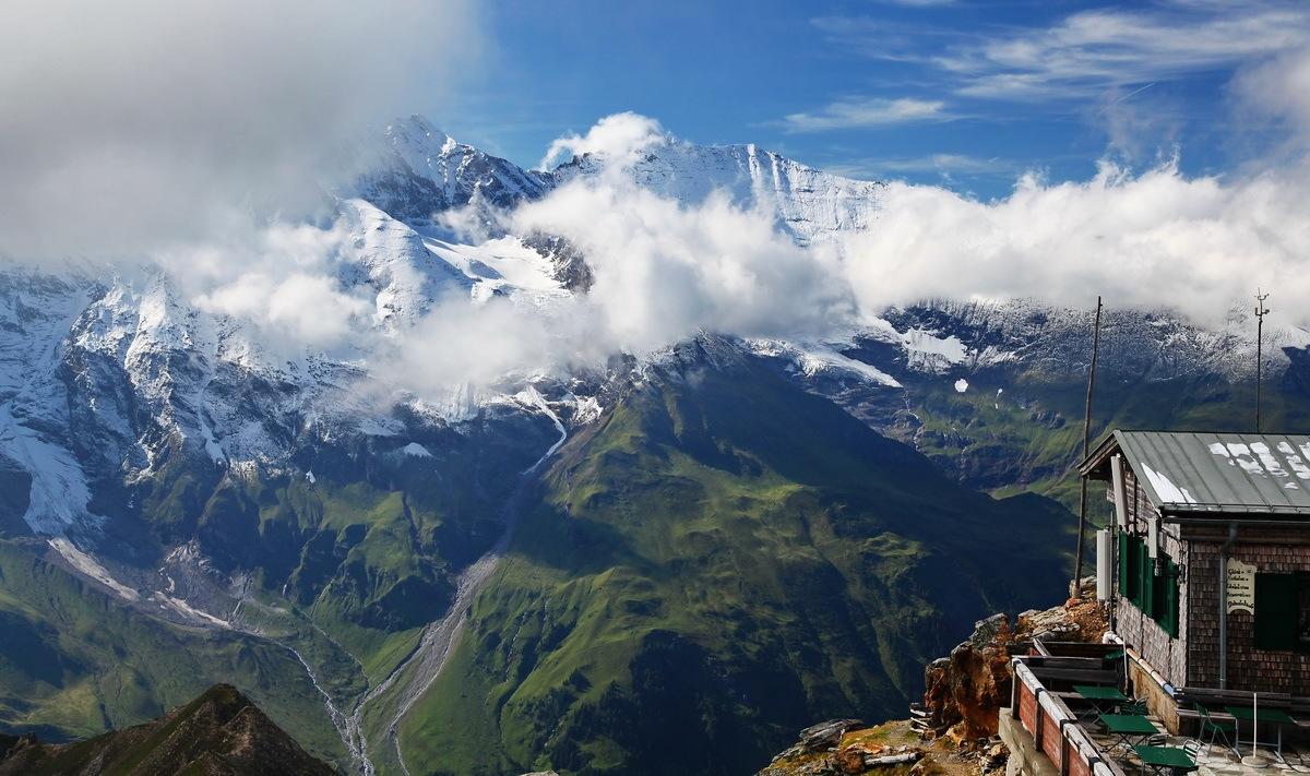 Альпы Австрия Гроссглокнер