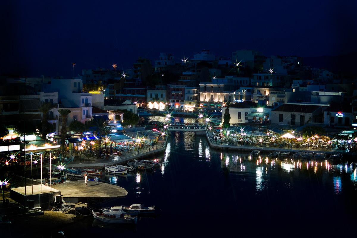 Греция, Крит, г. Агиос Николаус, который называют Греческим Сан-Тропе