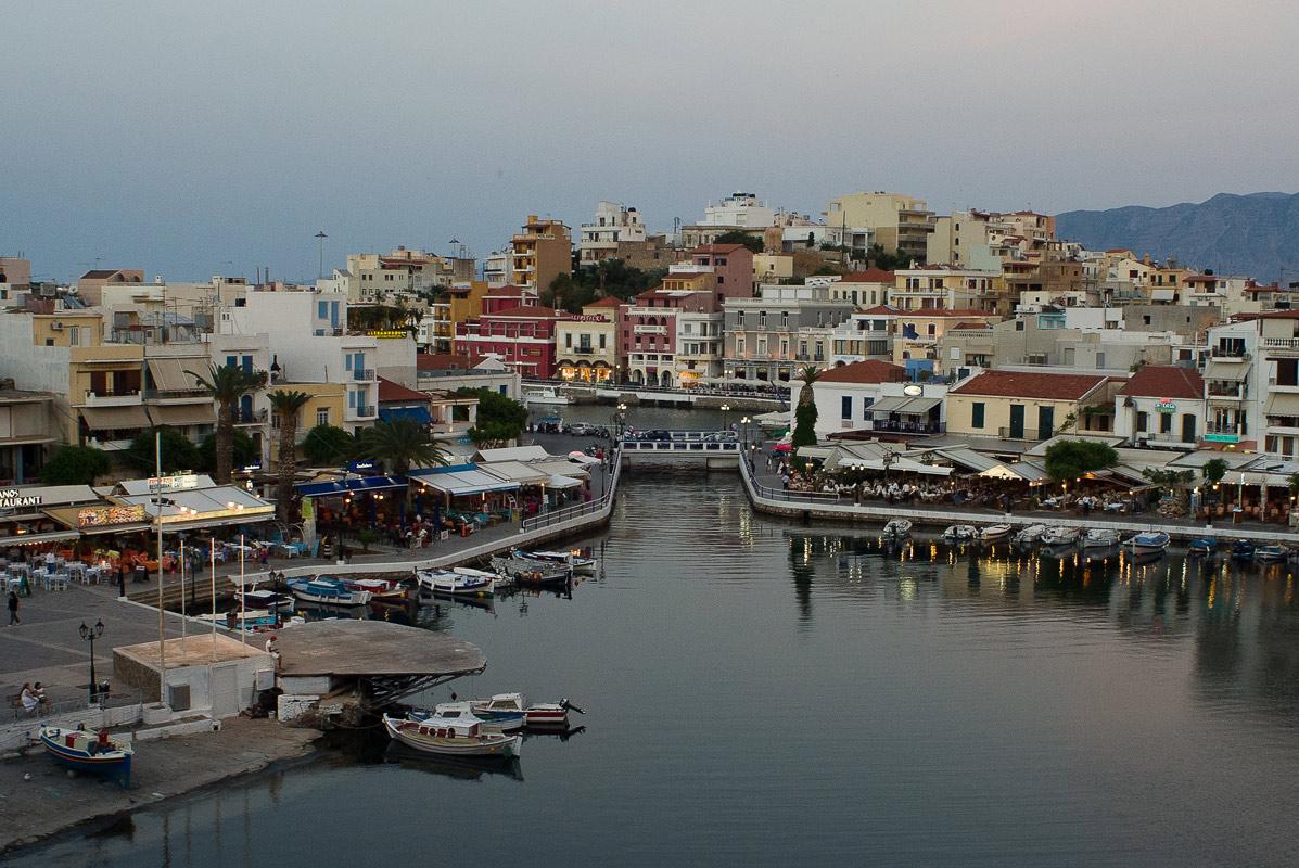 Греция, Крит, г. Агиос Николаос.