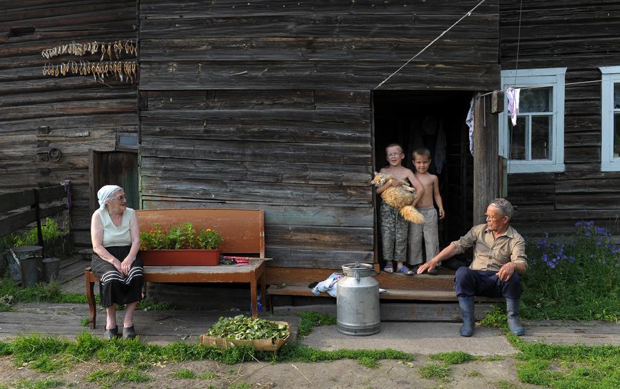 2009.Август.село Усть-Цильма.