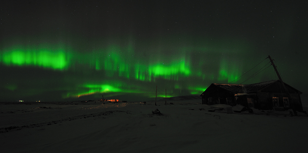 Северное сияниеNorthern lights