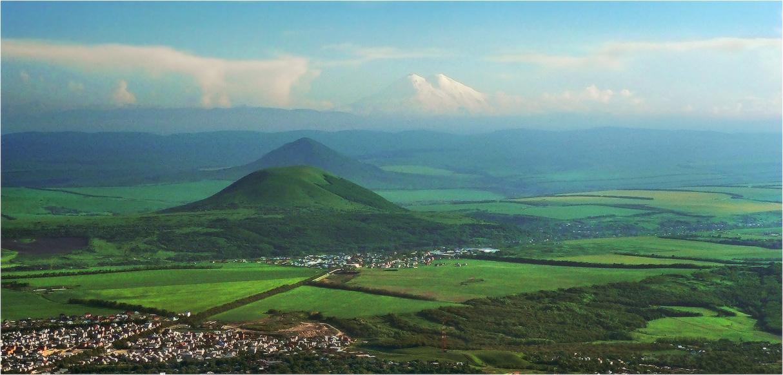 Вид с горы Машук.