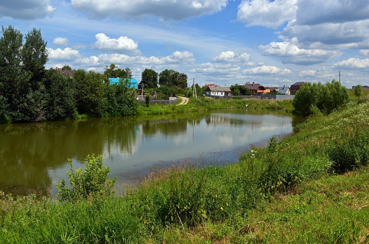 пейзаж,природа,лето,пруд