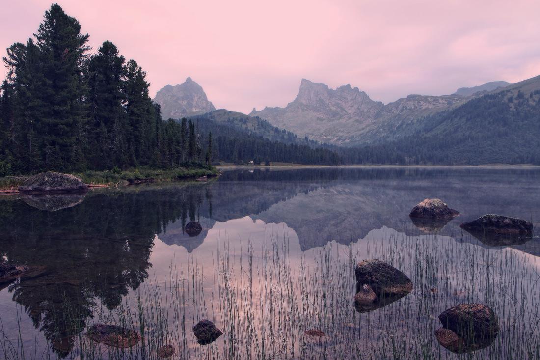 Озеро Светлое. Ергаки. Западный Саян.