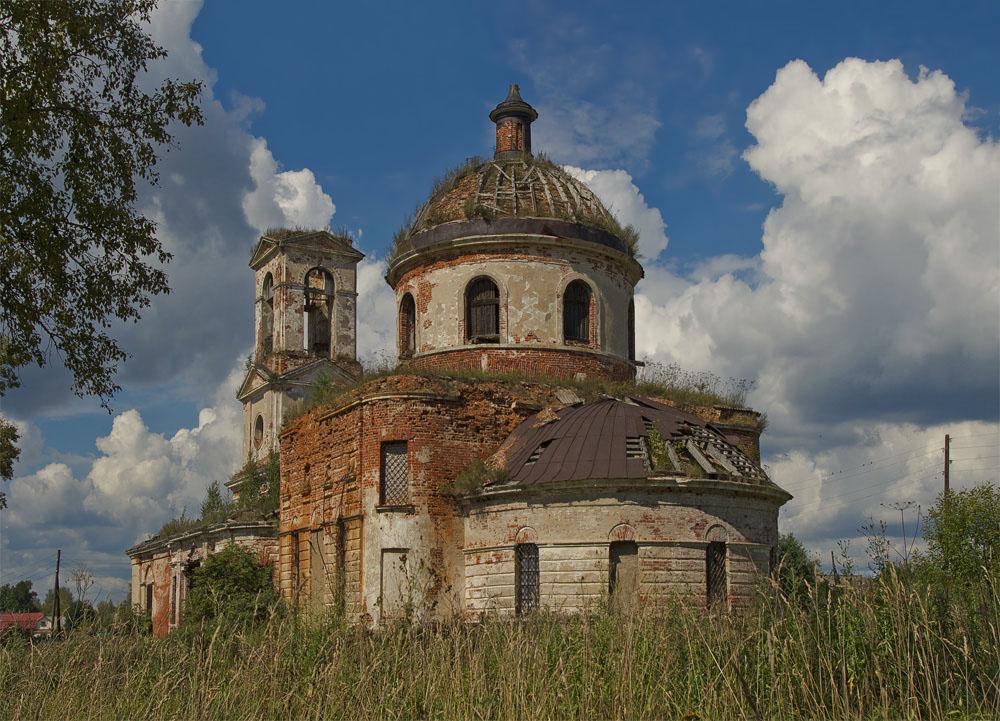 Тверская область,село Нестерово.Август 2012.