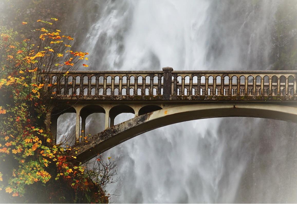 Малтнома фолс штат Орегон США