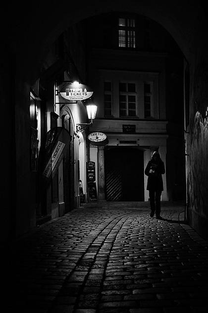 Mесто фотографирования, улица Тынска-Cтарый Город-Прага-1