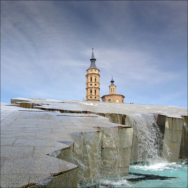 На ПП фрагмент фонтана
