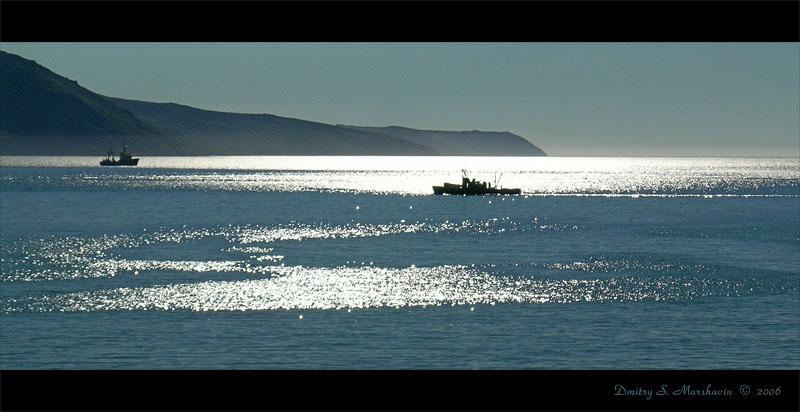 бухта Нагаева - морские ворота Колымы...