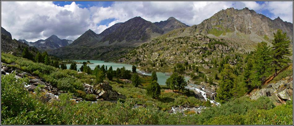 Озеро все тоже пока, Дарашколь.Горный Алтай, август 2006г.